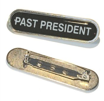 PAST PRESIDENT bar badge
